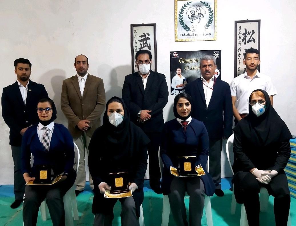 kata karate karghri khouzestan برگزاری مسابقات کاتا کاراته مجازی خوزستان برای نخستین بار در کشور