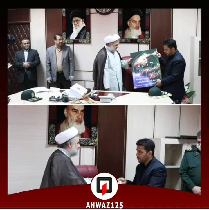 IMG 20200507 WA0010 رییس کل دادگستری استان خوزستان از خدمات سازمان آتش نشانی اهواز تقدیر کرد