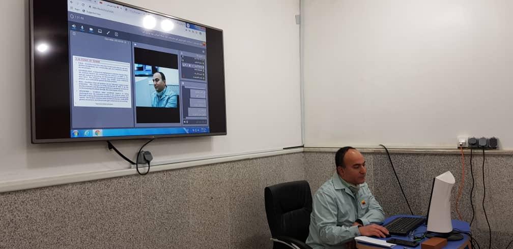 2239 orig آغاز رسمی دورههای آموزش الکترونیکی شرکت فولاد خوزستان