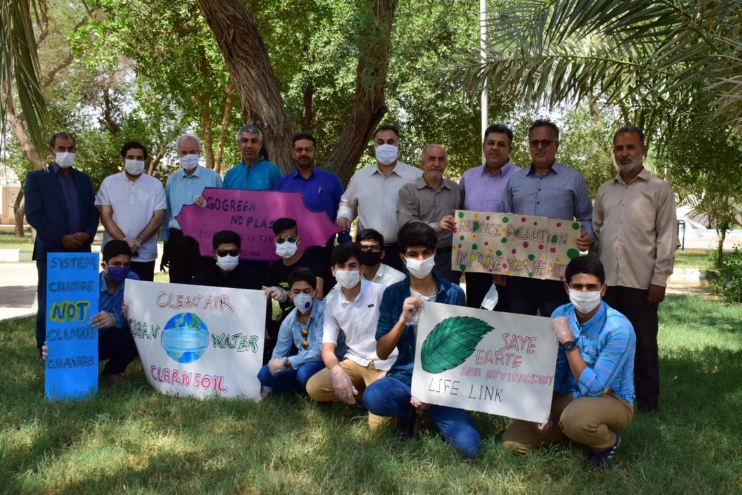 IMG 20200610 WA0026 کرونا هم روز جهانی محیط زیست را از یاد دانش آموزان نبرد