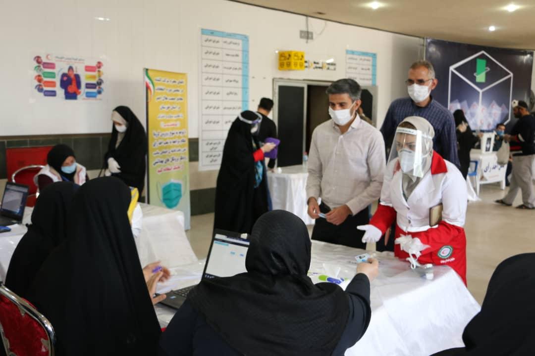 IMG 20200614 WA0015 اعضای جدید شورای اجرایی هلال احمر کلانشهر اهواز مشخص شدند