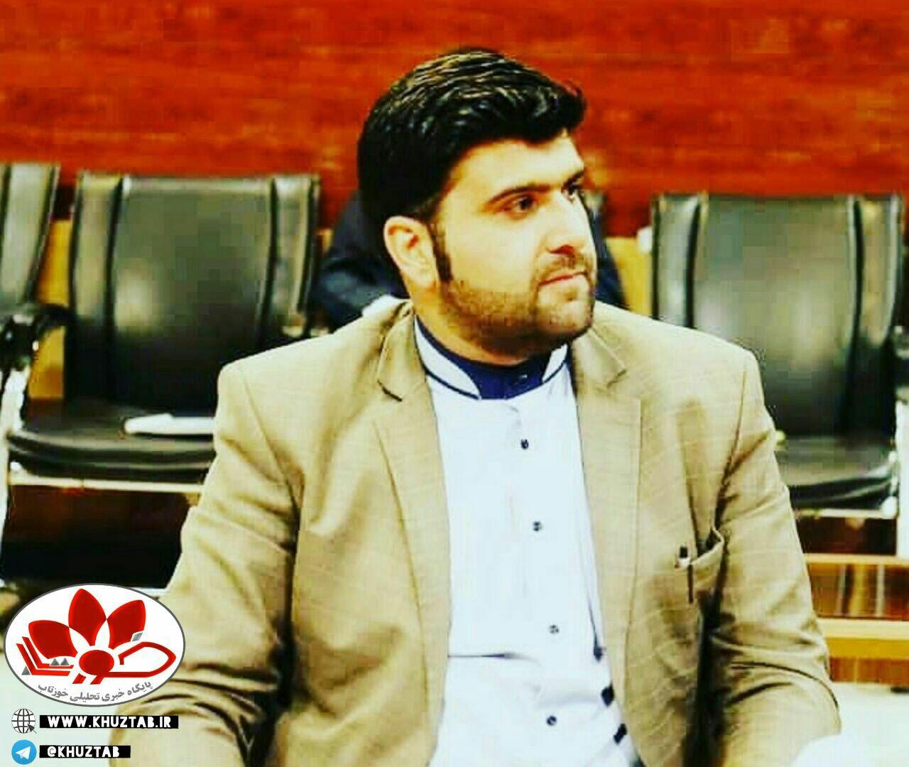 IMG 20200625 061541 421 علی زهیری مسئول روابط عمومی بهداشت شرق اهواز شد