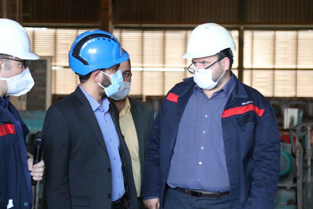 IMG 20200710 WA0009 افزایش 50 درصدی ظرفیت تولید فولاد اکسین با راه اندازی پروژه فولاد سازی / پیگیریبرای راه اندازی پروژه فولاد سازی