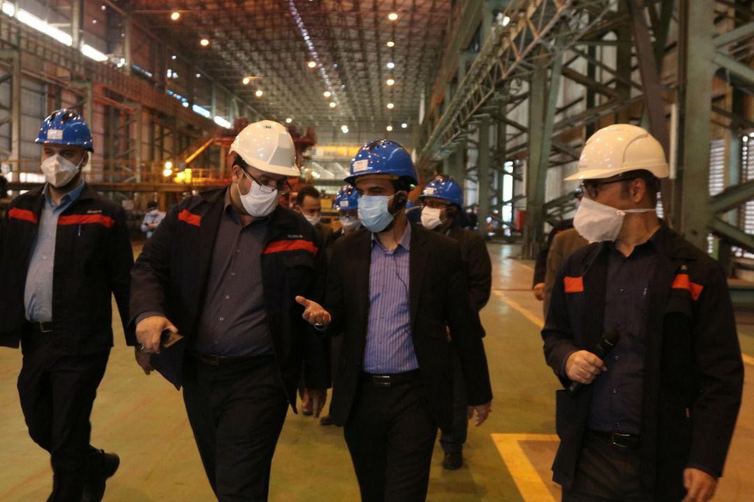 IMG 20200710 WA0010 افزایش 50 درصدی ظرفیت تولید فولاد اکسین با راه اندازی پروژه فولاد سازی / پیگیریبرای راه اندازی پروژه فولاد سازی
