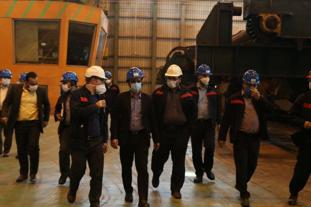 IMG 20200710 WA0011 افزایش 50 درصدی ظرفیت تولید فولاد اکسین با راه اندازی پروژه فولاد سازی / پیگیریبرای راه اندازی پروژه فولاد سازی