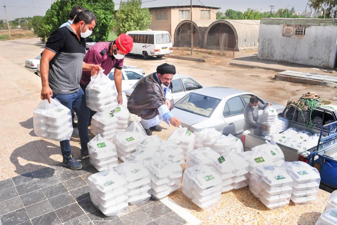 IMG 20200808 WA0062 سه هزار بسته غذایی در اهواز و حاشیه توزیع میشود