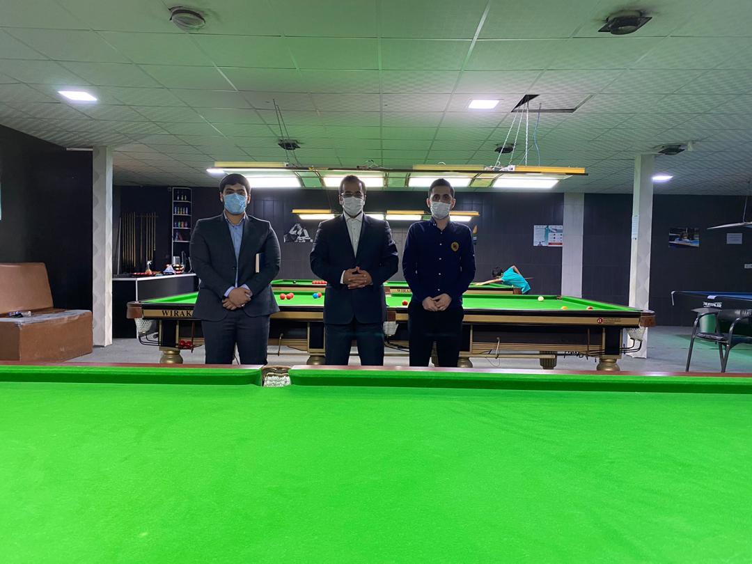 IMG 20200810 WA0015 رئیس هیات بولینگ، بیلیارد و بولس کلانشهر اهواز از دو باشگاه خانه بیلیارد خوزستان و الماس سیاه بازدید کرد