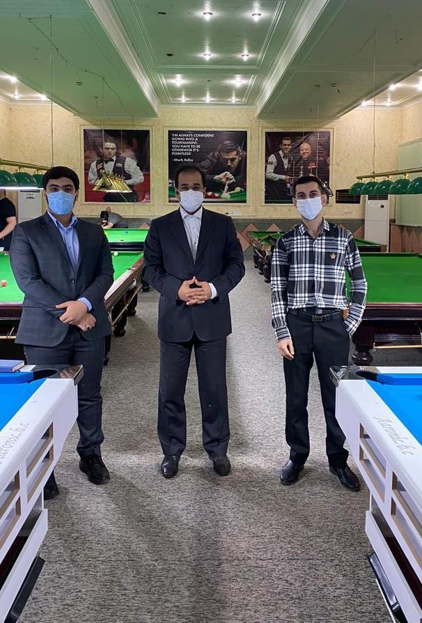 IMG 20200810 WA0016 رئیس هیات بولینگ، بیلیارد و بولس کلانشهر اهواز از دو باشگاه خانه بیلیارد خوزستان و الماس سیاه بازدید کرد