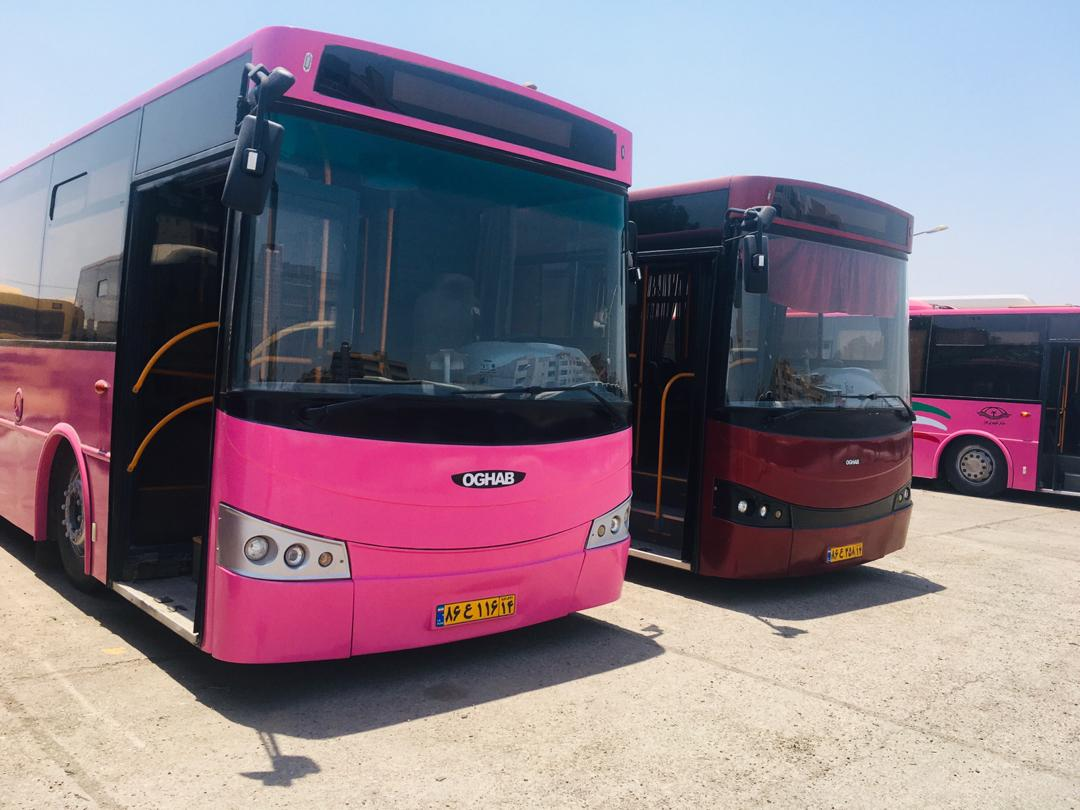 IMG 20200812 WA0055 آمادگی اتوبوسرانی اهواز برای از سرگیری فعالیت اتوبوس های شهری