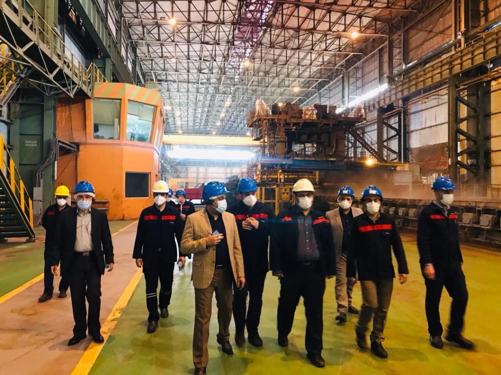 IMG 20200903 WA0167 اولین پروژه اولویت دار صندوق بازنشستگی کشور، راهاندازی طرح فولادسازی فولاد اکسین خوزستان است