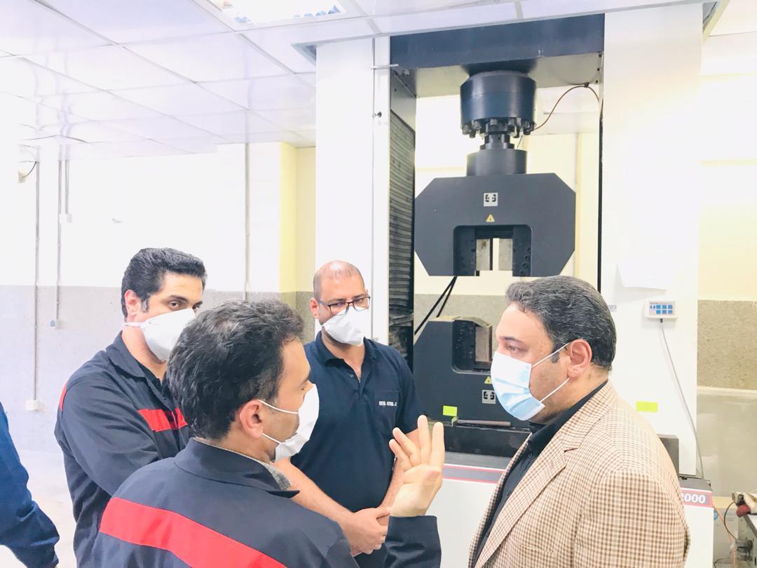 IMG 20200903 WA0178 اولین پروژه اولویت دار صندوق بازنشستگی کشور، راهاندازی طرح فولادسازی فولاد اکسین خوزستان است