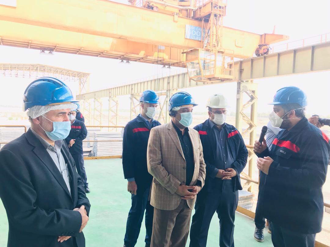 IMG 20200903 WA0180 اولین پروژه اولویت دار صندوق بازنشستگی کشور، راهاندازی طرح فولادسازی فولاد اکسین خوزستان است