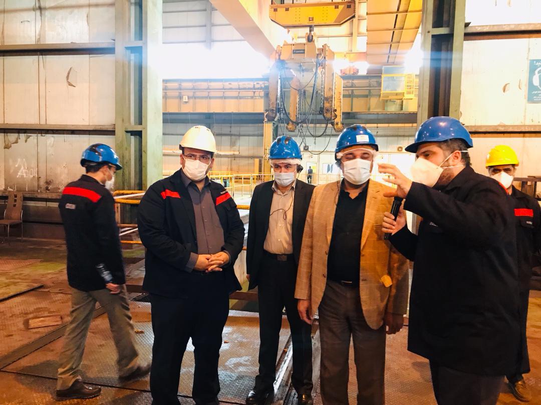 IMG 20200903 WA0182 اولین پروژه اولویت دار صندوق بازنشستگی کشور، راهاندازی طرح فولادسازی فولاد اکسین خوزستان است