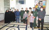 IMG 20200906 WA0085 160x100 سبزپوشان مرکز معراج سپاه با خانواده شهید فرجی زنگنه دیدار کردند