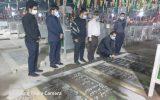 IMG 20200927 WA0013 160x100 برگزاری آیین غبار روبی و عطر افشانی گلزار شهدای اهواز