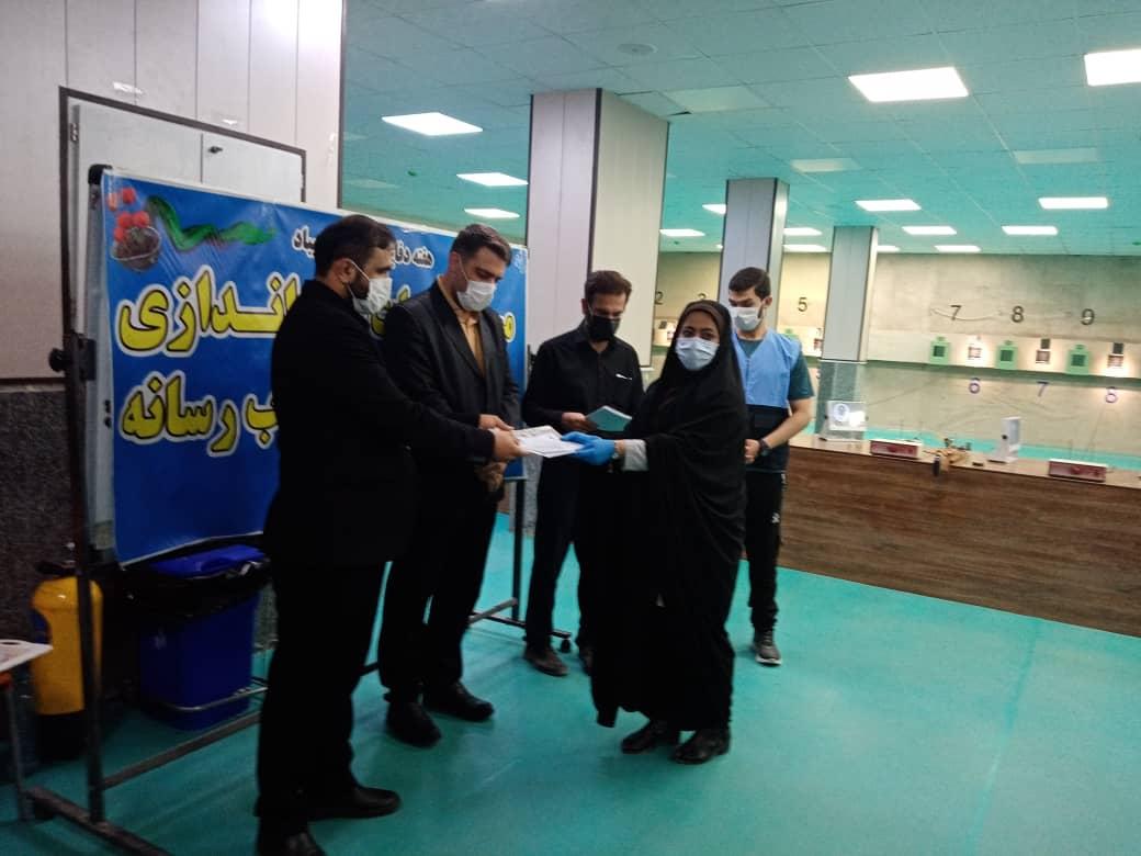 IMG 20200927 WA0085 مقام سوم مسابقات تیراندازی هفته دفاع مقدس به خبرنگار مهر رسید