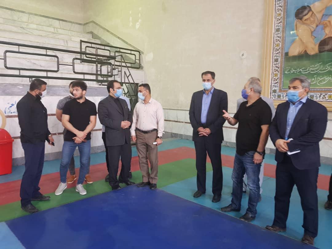 IMG 20201019 WA0036 تقدیر کشتی گیر ملی پوش باشگاه فولاد اکسین از رییس مجمع نمایندگان خوزستان