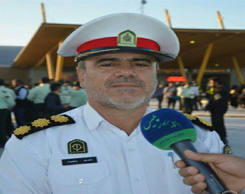 IMG 20201005 025259 595 تقدير پليس راهور خوزستان از عملكرد سازمان تاكسيراني اهواز در ساماندهي هسته مركزي شهر