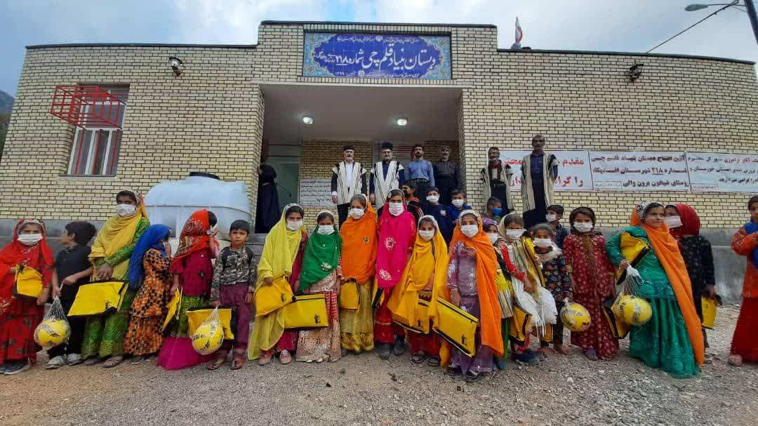 photo588146978 افتتاح دبستان ۲ کلاسه قلمچی در روستای شیخون برون اندیکا