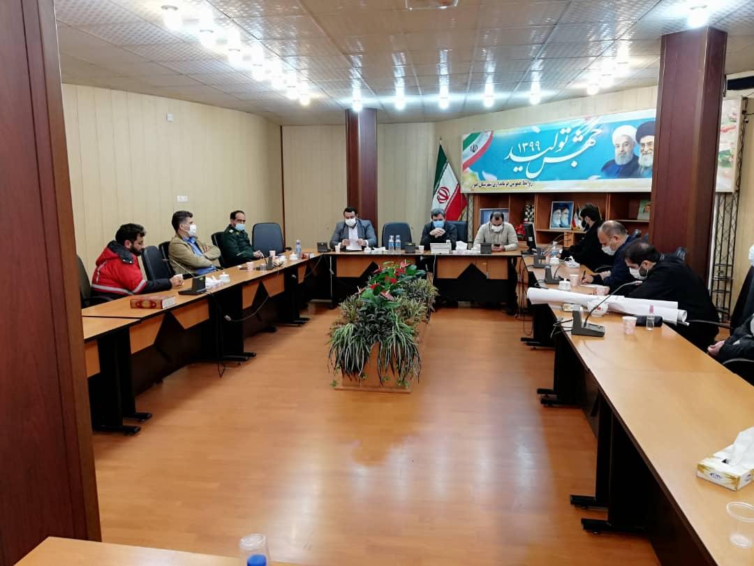 IMG 20201203 WA0019 تشکیل جلسه ستاد مدیریت بحران برای رفع آبگرفتگی معابر و خیابان های اهواز