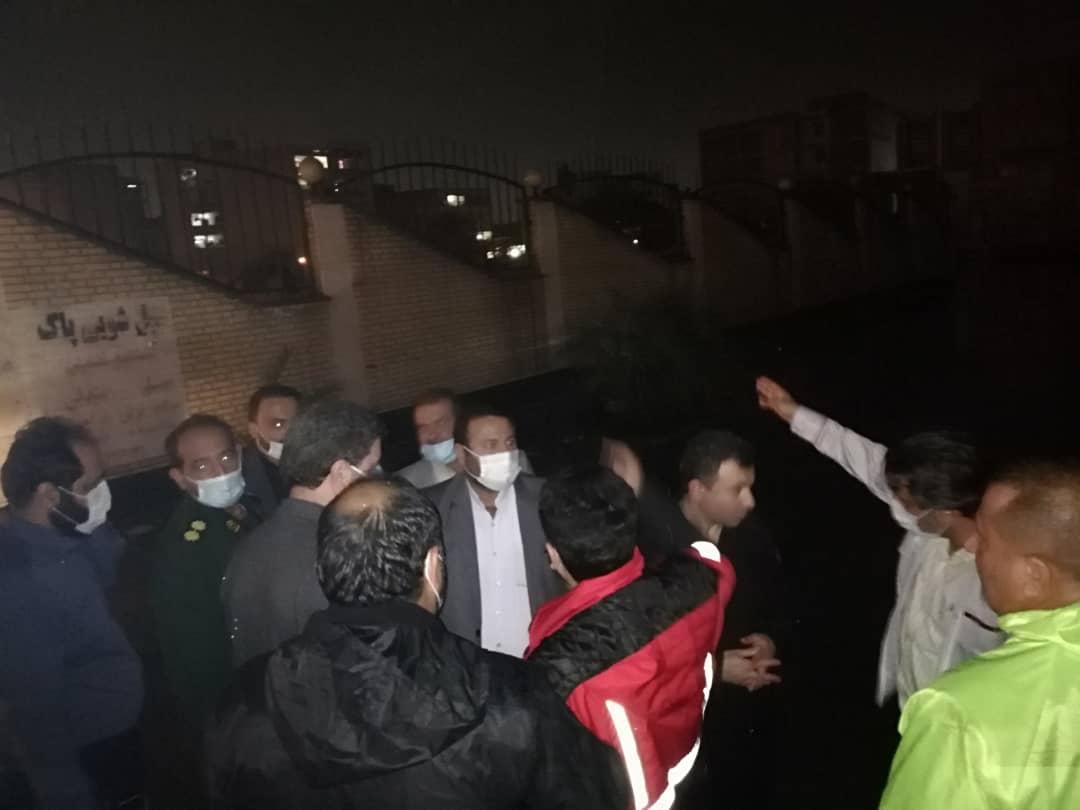 IMG 20201203 WA0020 تشکیل جلسه ستاد مدیریت بحران برای رفع آبگرفتگی معابر و خیابان های اهواز