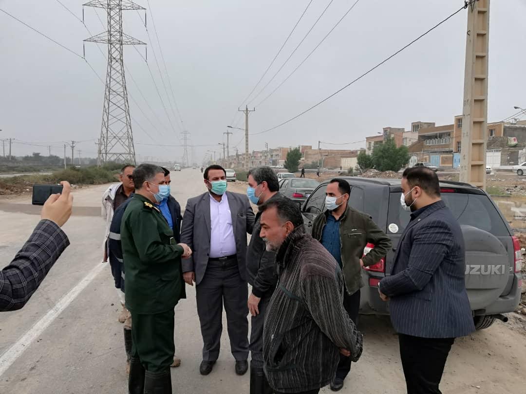 IMG 20201203 WA0021 تشکیل جلسه ستاد مدیریت بحران برای رفع آبگرفتگی معابر و خیابان های اهواز