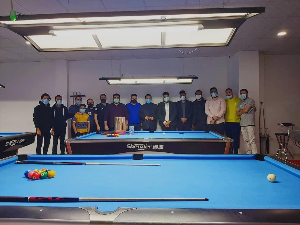 IMG 20210103 WA0078 دهمین دوره رنکینگ پاکت بیلیارد استان خوزستان در اهواز برگزار شد