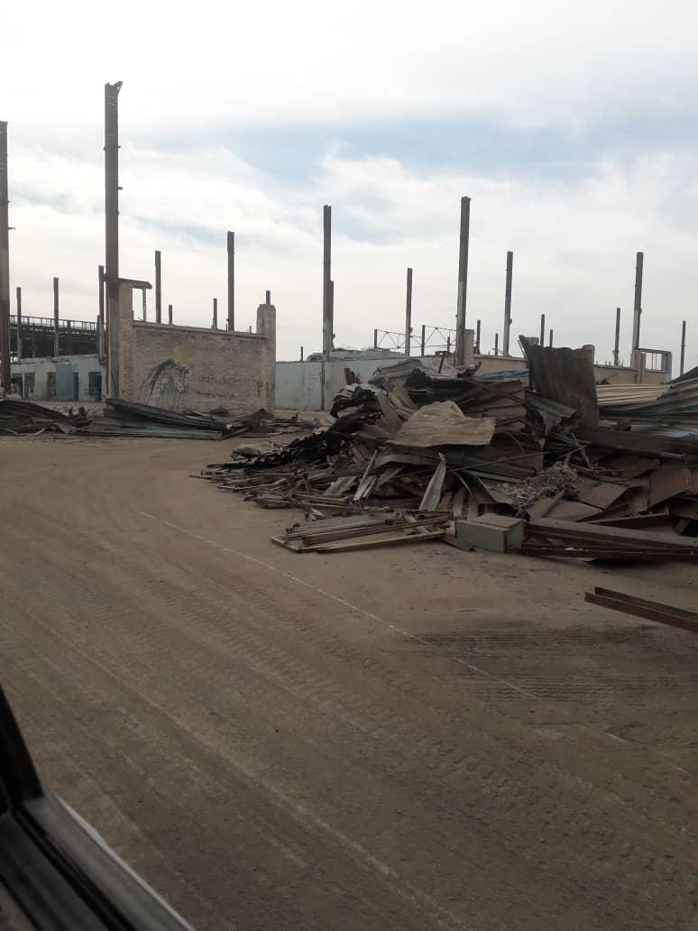 IMG 20210123 WA0106 به یغما رفتن سرمایه های شرکت لوله سازی و قطعه سازی خوزستان و بیکاری صدها کارگر با بی توجهی استاندار و نمایندگان خوزستان