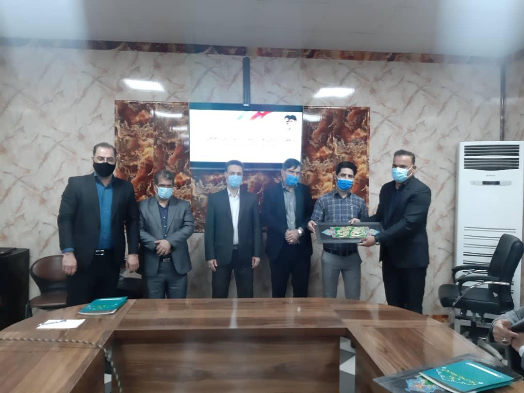 IMG 20210212 WA0050 اداره ورزش و جوانان بندرماهشهر اداره برتر در حوزه فرهنگی ورزشی شد