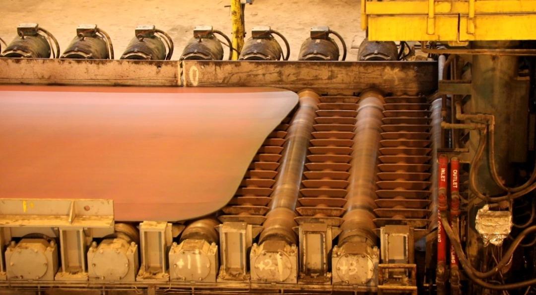 IMG 20210216 WA0108 بزرگترین و مقاوم ترین ورق فولادی ایران در فولاد اکسین تولید شد