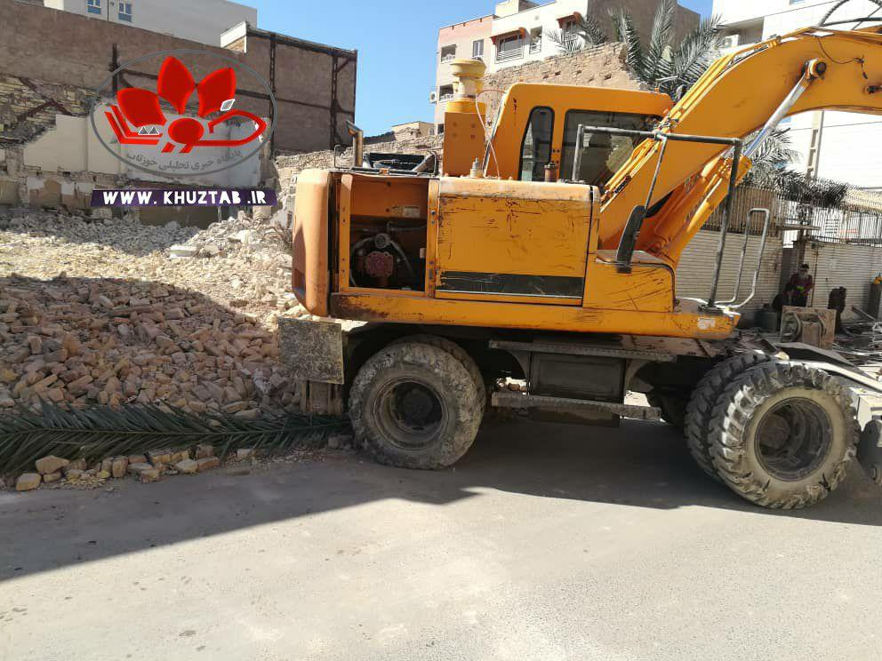 IMG 20210212 160354 057 خانه احمد محمود در اهواز تخریب شد./فروش هویت و میراث یک شهر از نظر شهرداری اهواز چند تومان می ارزد؟