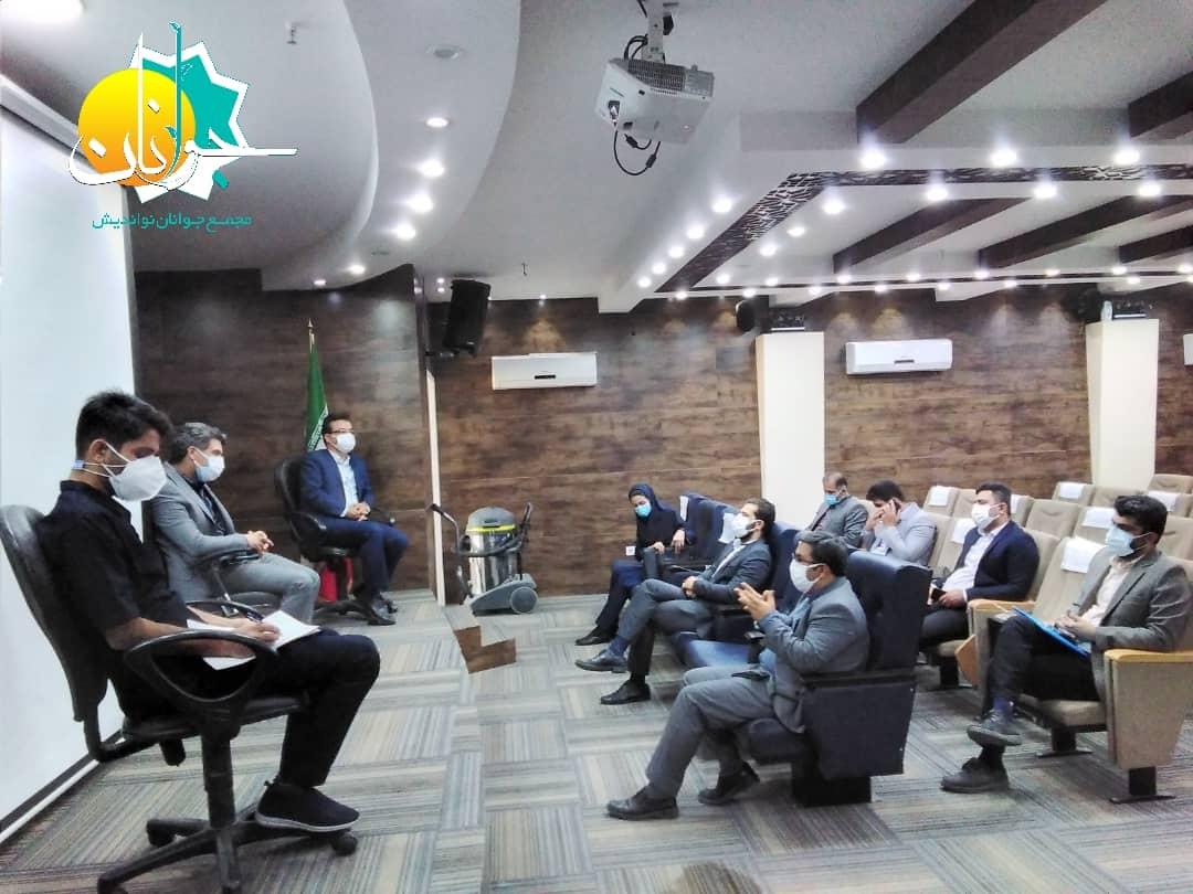 IMG 20210315 WA0078 نشست کمیسیون بهداشت و سلامت مجمع جوانان نواندیش خوزستان