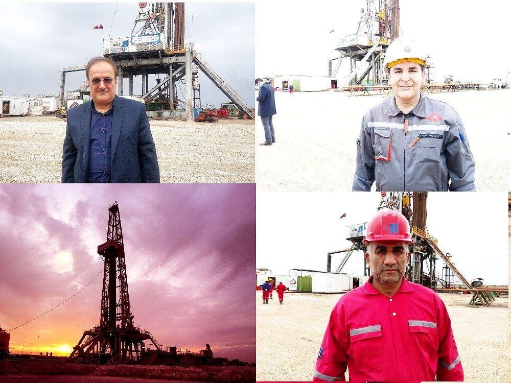 IMG 20210303 085951 604 حفاری نخستین حلقه چاه در پروژه طرح توسعه میدان نفتی اهواز یک و 4 کلید خورد