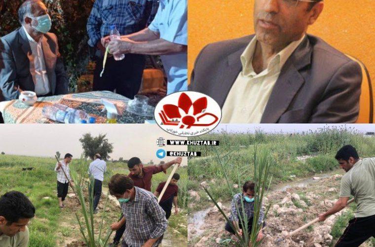 IMG 20210405 134314 977 760x500 آغاز اجرای طرح جامع دهکده گردشگری/کشاورزي در شهرستان رامهرمز