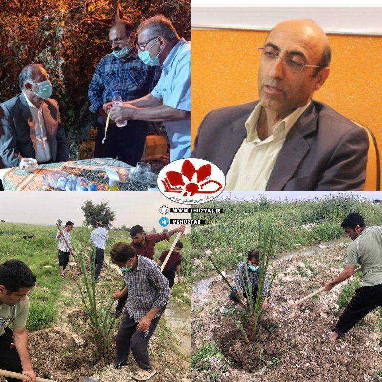 IMG 20210405 134314 977 آغاز اجرای طرح جامع دهکده گردشگری/کشاورزي در شهرستان رامهرمز