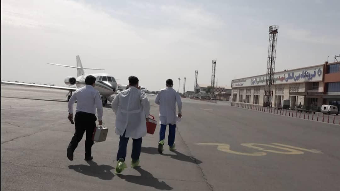 IMG 20210502 WA0146 اهدا اعضای نوجوان ۱۴ ساله به ۴ بیمار نیازمند/اعزام جت فالکون اورژانس به اهواز جهت انتقال قلب به تهران