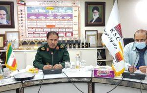 IMG 20210803 WA0053 300x190 جلسه پدافند غیرعامل شرکت فولاد خوزستان با حضور سردار جواد مشیدی برگزار شد