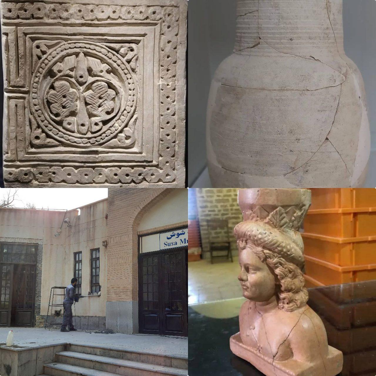 1630558627196 1280x1280 مرمت ۹۰ شیء تاریخی در پایگاه میراثجهانی شوش / پیگیری روند بهسازی موزه شوش