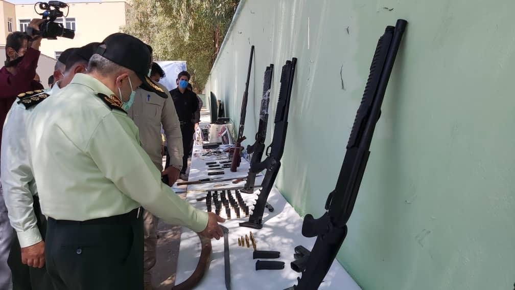 IMG 20210913 WA0001 انهدام باند سارقان مسلح فرا استانی در اهواز
