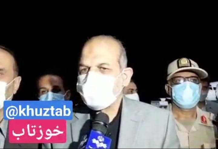 IMG 20210909 113741 485 وزیر کشور وارد خوزستان شد