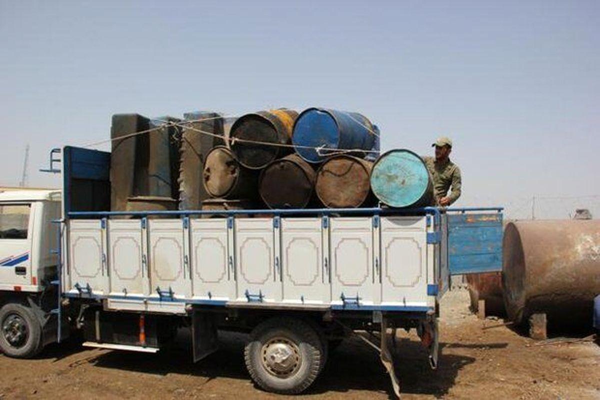 IMG 20210914 122755 033 کشف ۶۰ هزار لیتر نفت سرقتی از لوله انتقال نفت در شوش