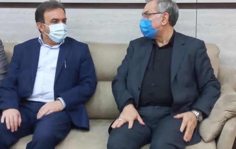 IMG 20210924 104537 644 وزیر بهداشت آخرین وضعیت کرونا در خوزستان را بررسی کرد
