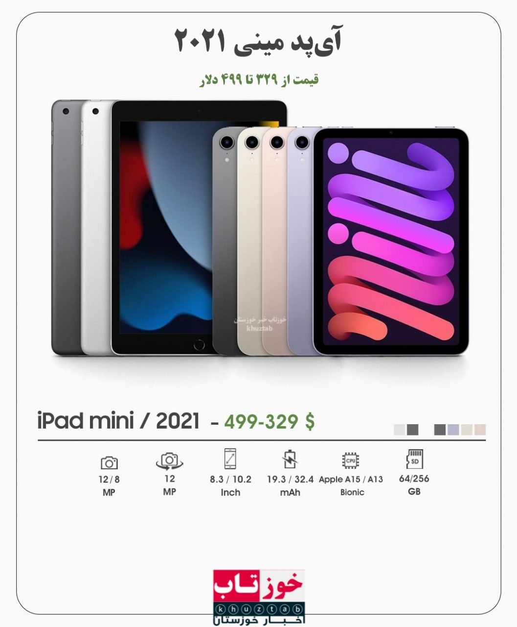 PicsArt 09 15 07.35.29 1057x1280 محصولات جدید اپل رونمایی شد/ از آیفون های سری ۱۳ تا آیپد مینی و اپلواچ سری ۷