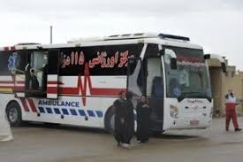 PicsArt 09 15 12.03.05 یک دستگاه اتوبوس آمبولانس جهت واکسیناسیون مناطق روستایی تجهیز شد