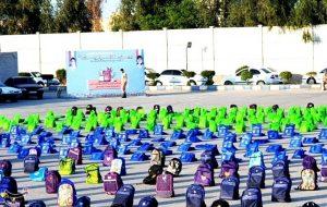 PicsArt 09 16 01.04.45 300x190 ۱۰۰۰۰ هزار بسته لوازمالتحریر میان دانشآموزان نیازمند استان خوزستان توزیع میشود