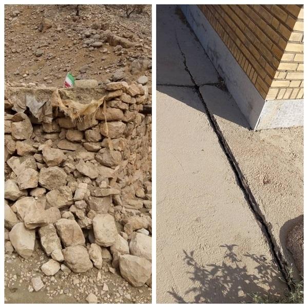 ۲۰۲۱ ۱۰ ۰۷ ۱۰ ۱۰ ۳۵ ۴۶۵ 1 تخریب و آسیب دیدگی برخی مدارس عشایری بر اثر زلزله اخیر