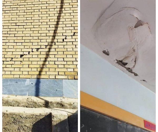 ۲۰۲۱ ۱۰ ۰۷ ۱۰ ۱۱ ۲۴ ۵۹۳ 600x500 تخریب و آسیب دیدگی برخی مدارس عشایری بر اثر زلزله اخیر
