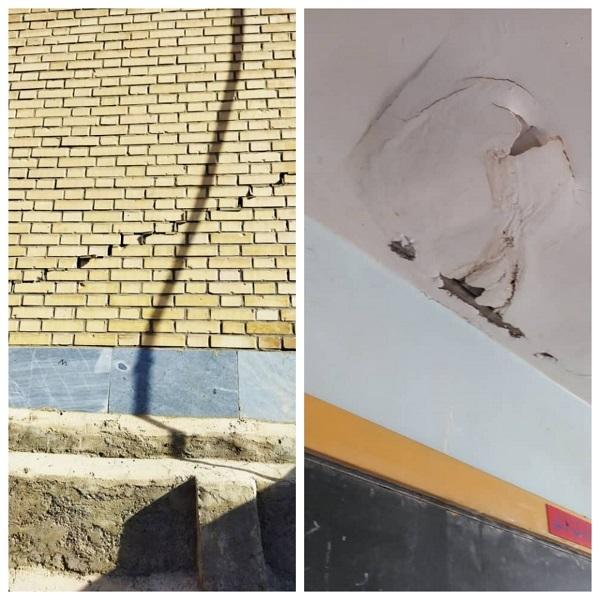 ۲۰۲۱ ۱۰ ۰۷ ۱۰ ۱۱ ۲۴ ۵۹۳ تخریب و آسیب دیدگی برخی مدارس عشایری بر اثر زلزله اخیر
