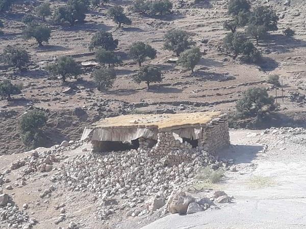 IMG 20211007 WA0013 تخریب و آسیب دیدگی برخی مدارس عشایری بر اثر زلزله اخیر