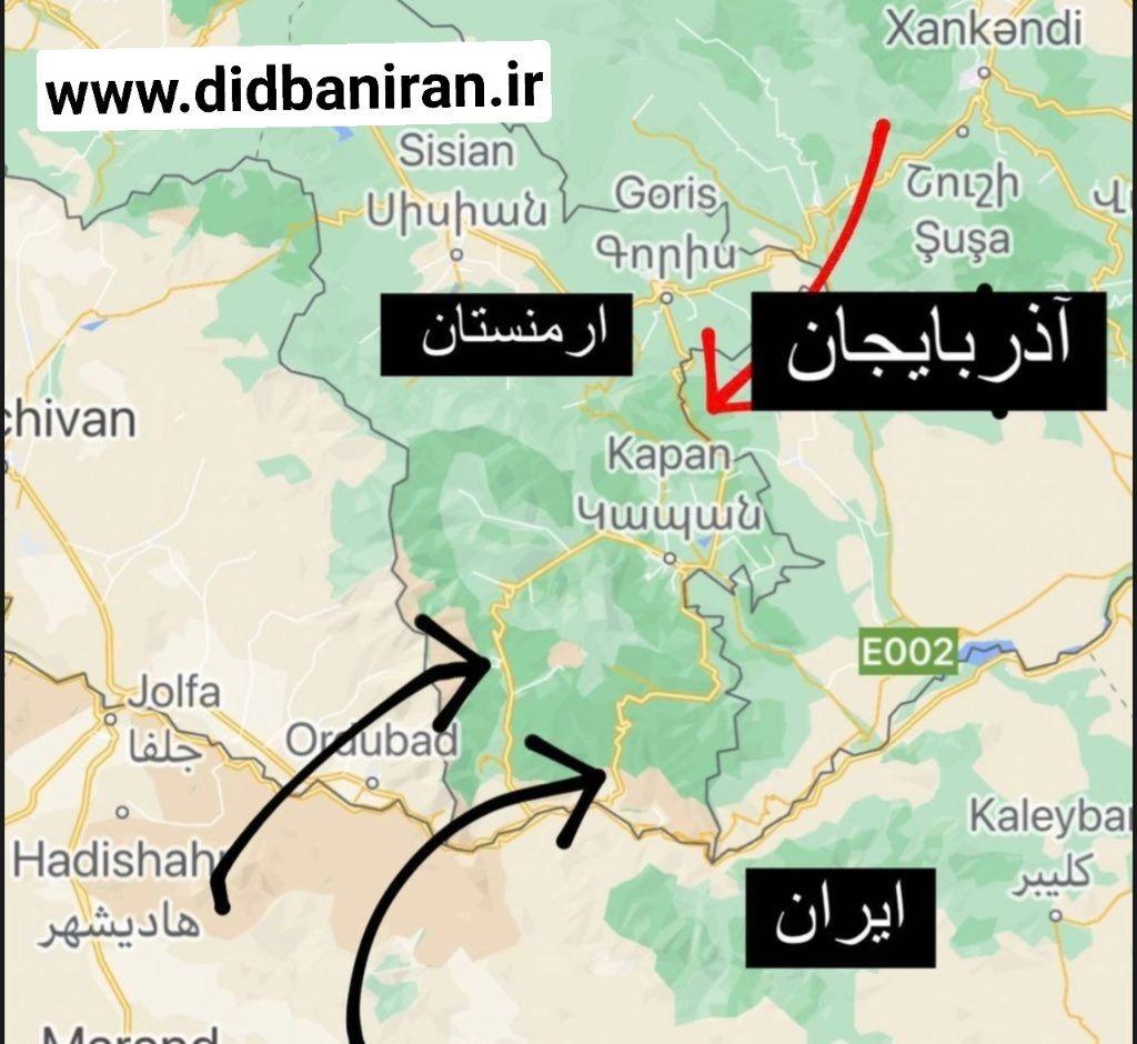 IMG 20211001 194419 564 پشت پرده طرح آنکارا، باکو و اسلام آباد برای کنترل کامل ارتباط تجاری ایران با اروپا+نقشه